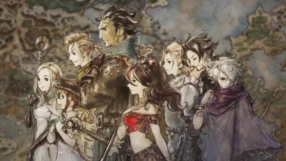 Square Enix Octopath Traveler