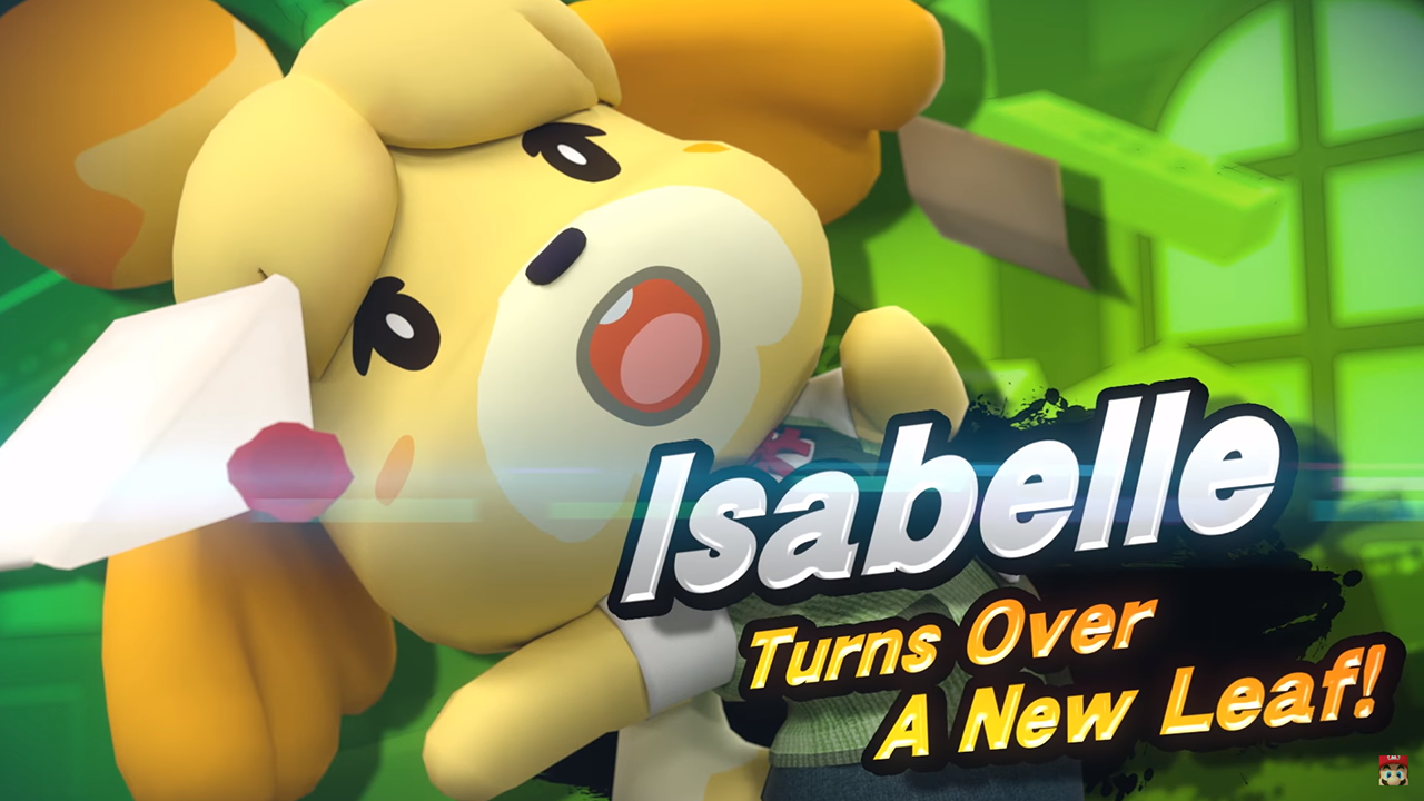 animal crossing switch isabelle
