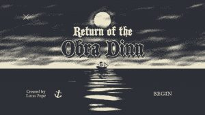 Return of the Obra Dinn Boasts the Strongest Opening in Recent Memory