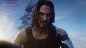 Just some screenshots of Keanu Reeves at #XboxE3